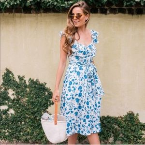 Gal Meets Glam Dresses - NWT Gal Meets Glam Floral Olivia Dress-Size 20
